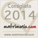 Consigliato 2014 da Matrimonio.com