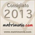 Consigliato 2013 da Matrimonio.com